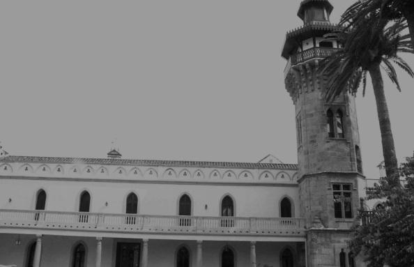 fachada casa convento la almoraima