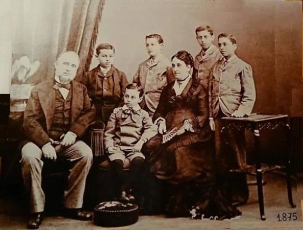 Pablo Antonio Larios Leocadia Sánchez de Piña e hijos Gibraltar