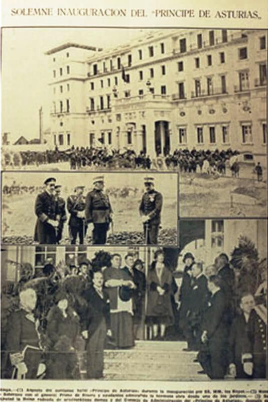 historia hotel principe de asturias dia de la inauguracion