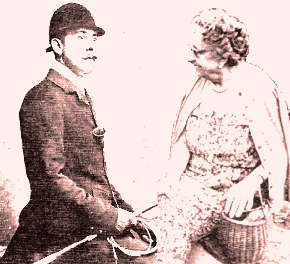 Pablo Larios y piña y marquesa de marzales