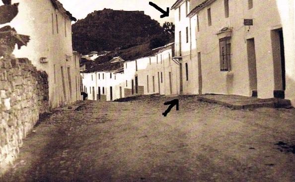 barrio arriba final calle sevilla Diego Bautista Prieto