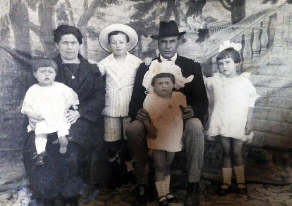 familia González Cano 1925