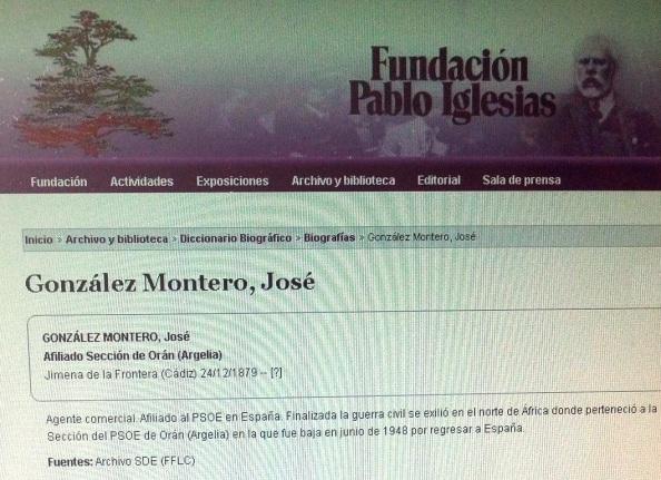 José González Montero Fundación PI