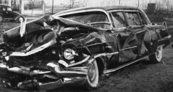 Cádillac marca de 1955 en el que murió Juan March Ordinas 10 de marzo 1962