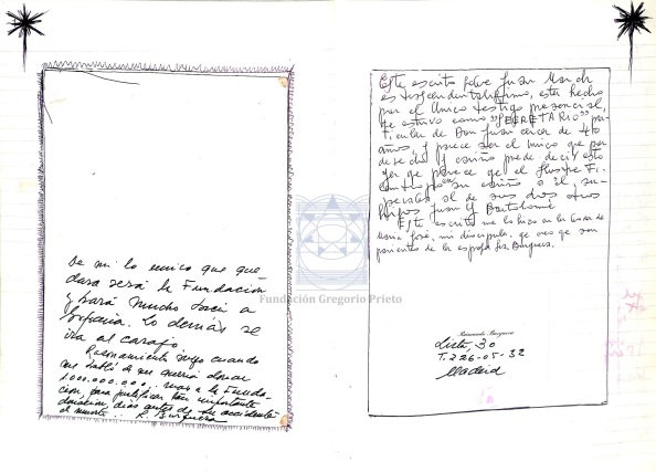 DIARIOS31 Escrito de Burguera a Juan Mach