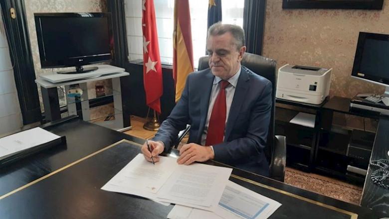 el_delegado del gobierno en madrid jose manuel franco