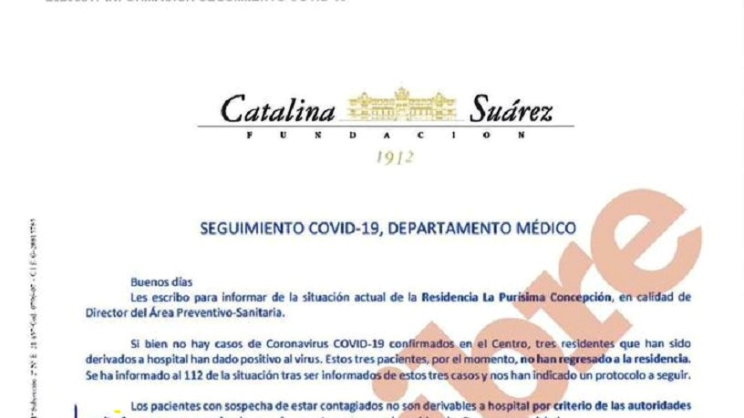 carta comunidad de madrid covid