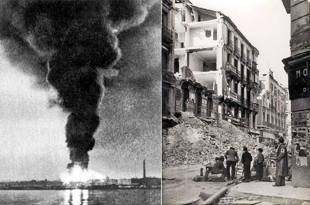 La imagen tiene un atributo ALT vacío; su nombre de archivo es bombardeo-mc3a1laga-1937-mar-y-calle.jpg
