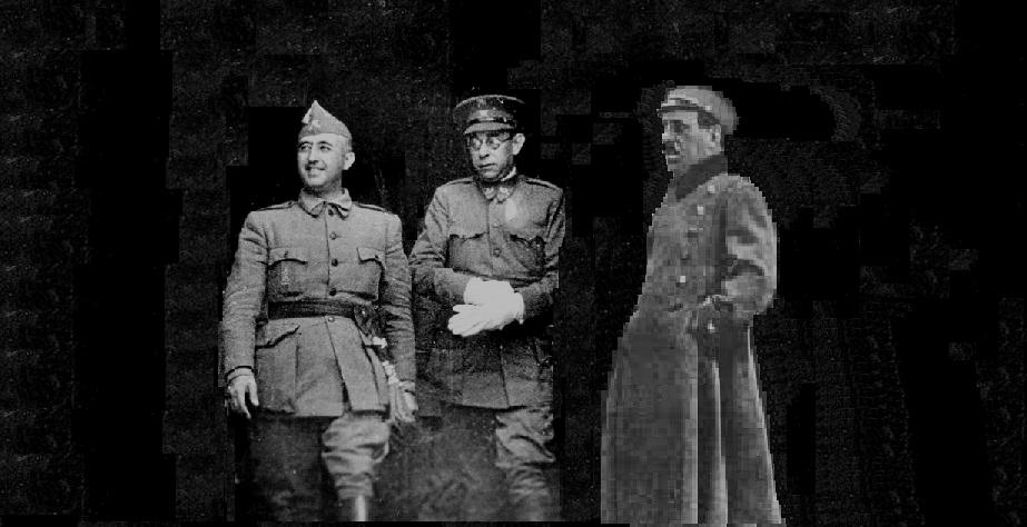 El 20 de julio, Sanjurjo despegaba desde un campo improvisado en Estoril para volar hasta Gamonal, en Burgos, y ponerse al mando de la sublevación. El avión se estrelló sin conseguir elevarse y Sanjurjo encontró la muerte. Casi un año después, el 3 de junio de 1937, el general Emilio Mola perdía la vida en otro accidente aéreo, en el Puerto burgalés de la Brújula.